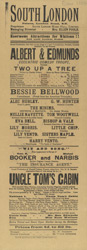 Poster for the South London Palace 1109